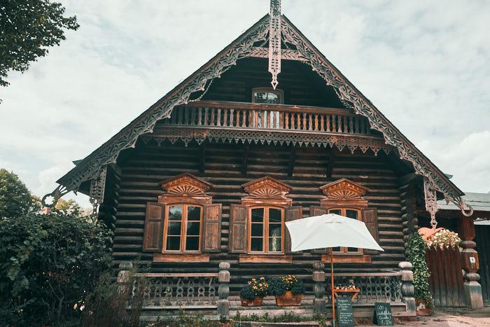 Alexandrowka Holzhaus Potsdam