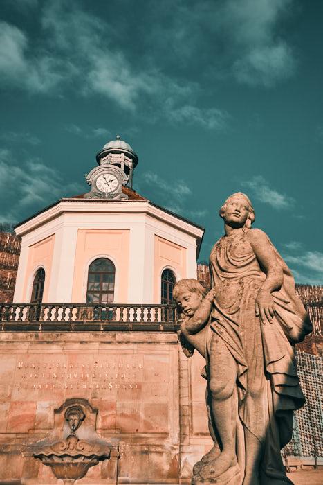 Belvedere Skulptur Schloss Wackerbarth
