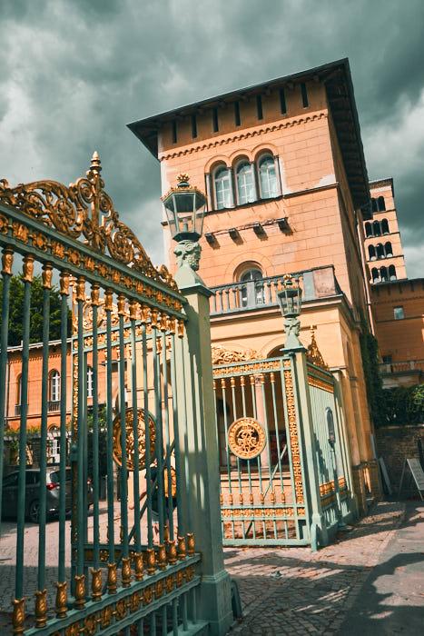 Grünes Gitter - Eingang zu Sanssouci