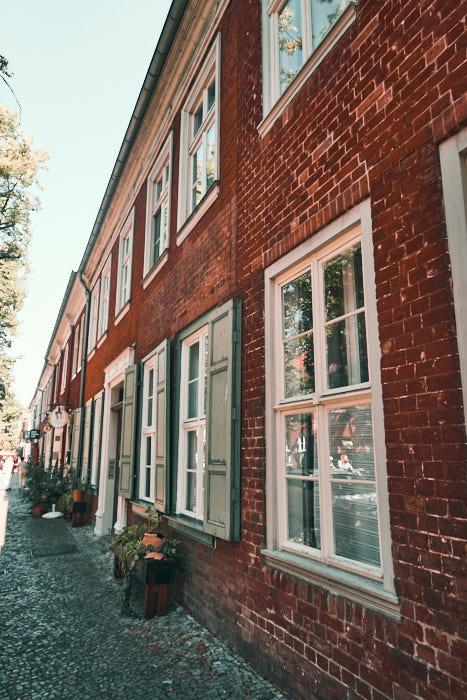 Holländisches Viertel Potsdam Hausfassade