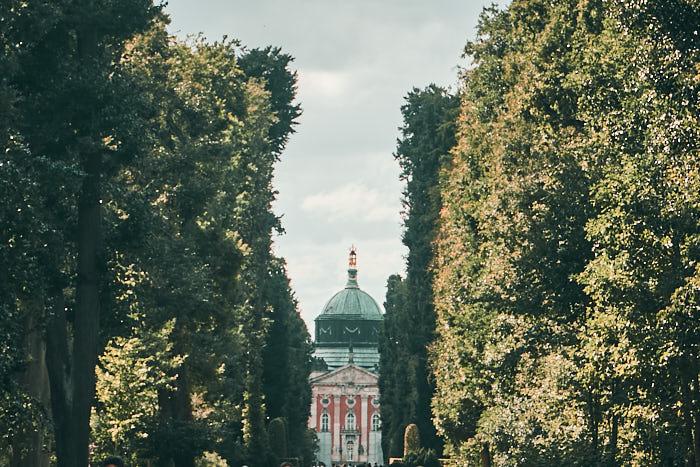 Neues Palais Sanssouci Hauptallee