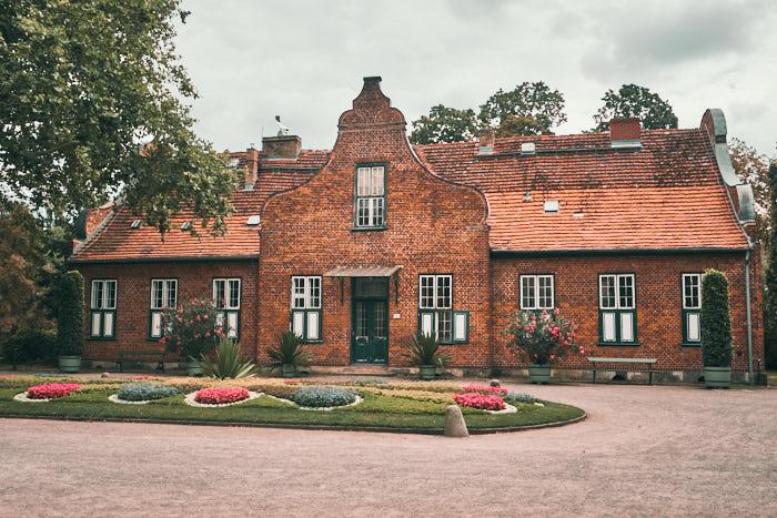 Haus bei Orangerie im Neuen Garten Potsdam