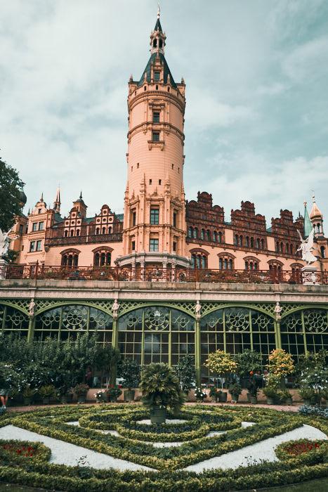 Orangerie am Schweriner Schloss