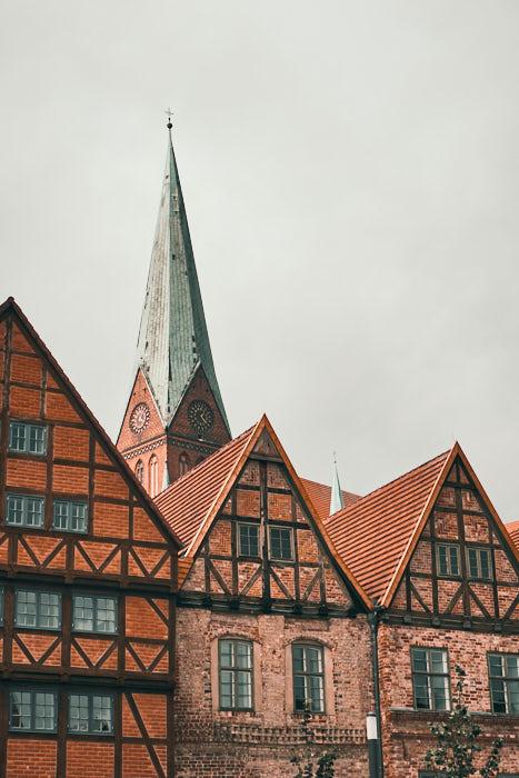 Schlachtermarkt mit Schweriner Dom