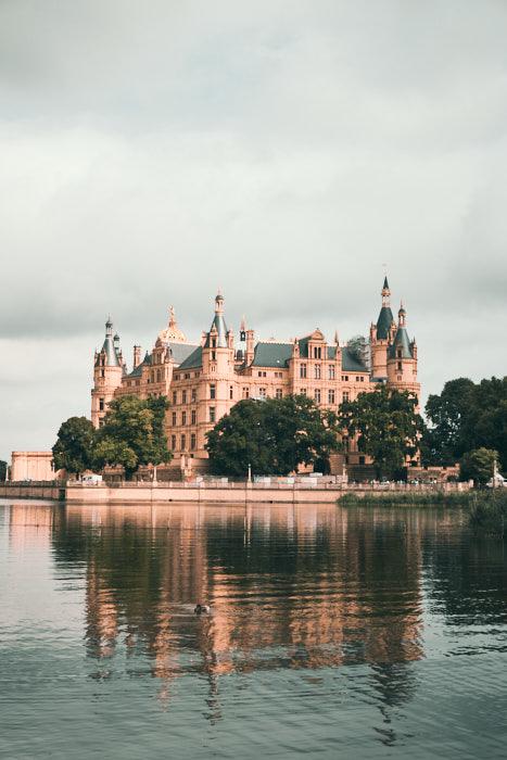 Schloss Schwerin Burgsee