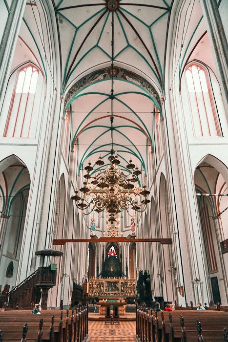 Schweriner Dom von innen