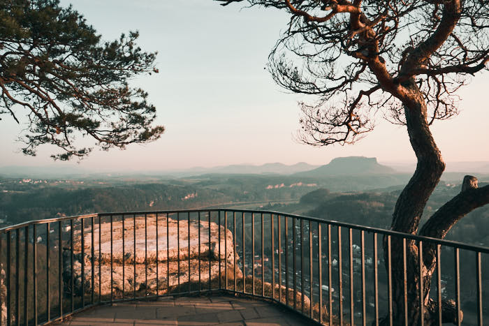 Bastei Aussichtsplattform Sächsische Schweiz