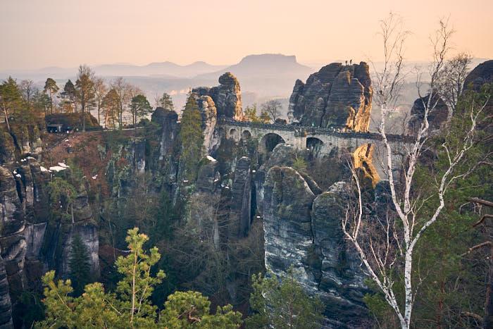Basteibrücke Aussicht Ferdinandstein