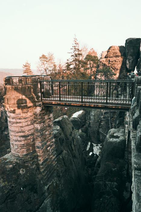 Basteibrücke Aussichtsplattform