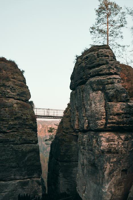Felsenburg Neurathen Brücke