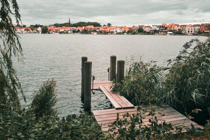 Inselstadt Malchow von Klosterseite aus