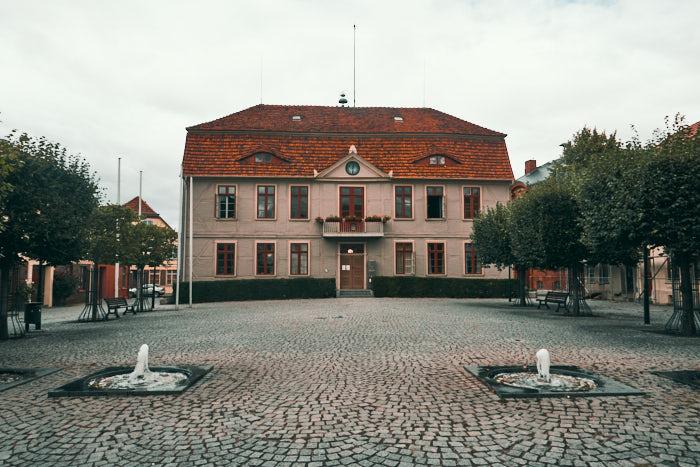 Rathaus Malchow Altstadt