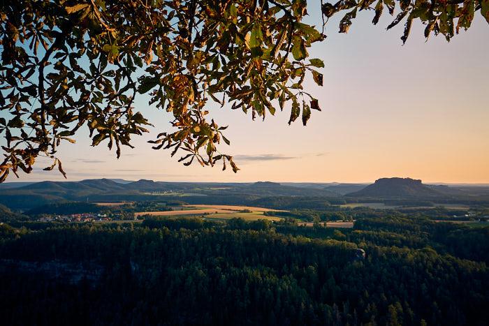 Brand Brandaussicht Panorama Sächsische Schweiz