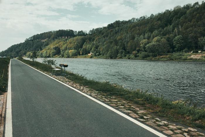 Elberadweg Sächsische Schweiz