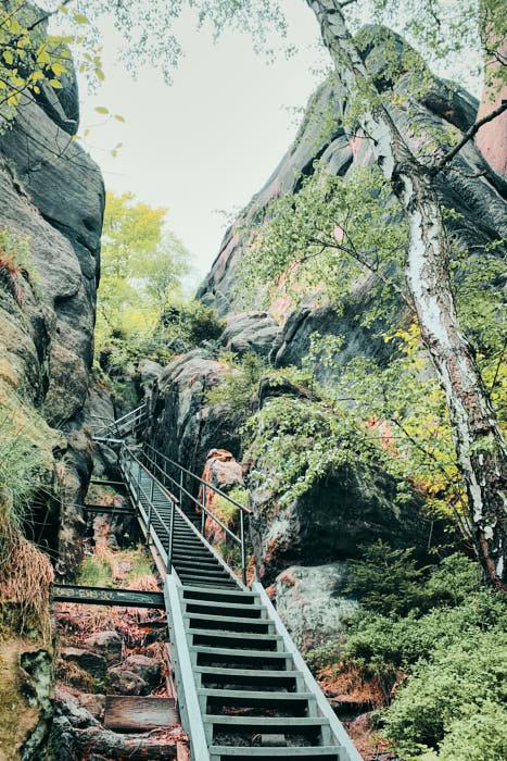 Heilige Stiege Treppe