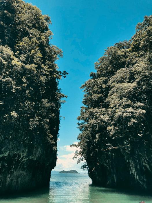 Hong Island Zufahrt Lagune