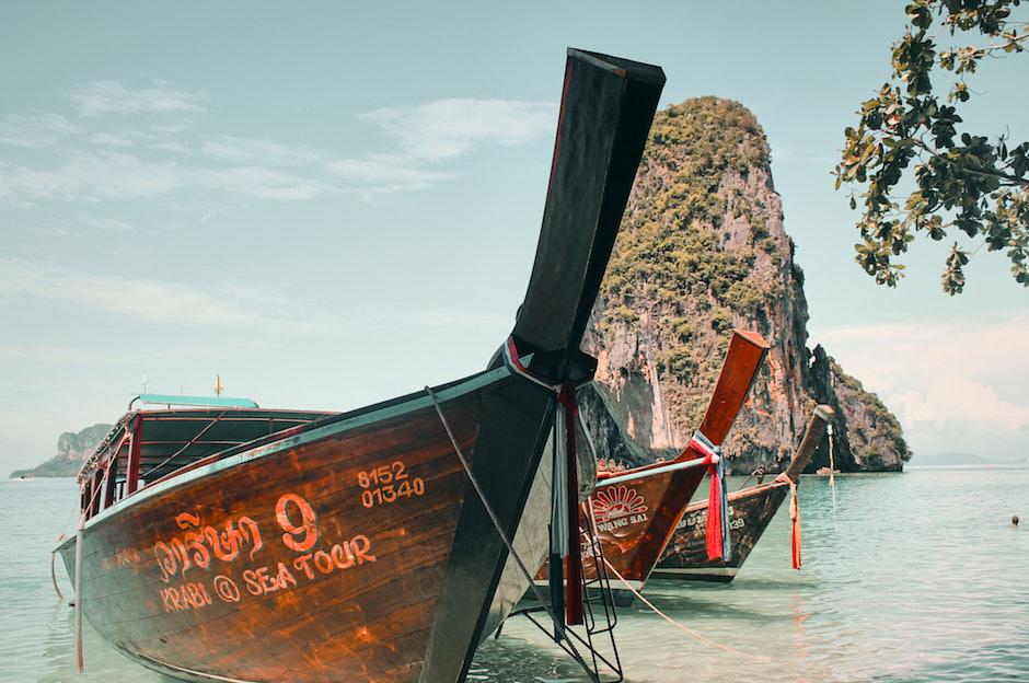 Krabi Thailand Tipps Longtail Boote