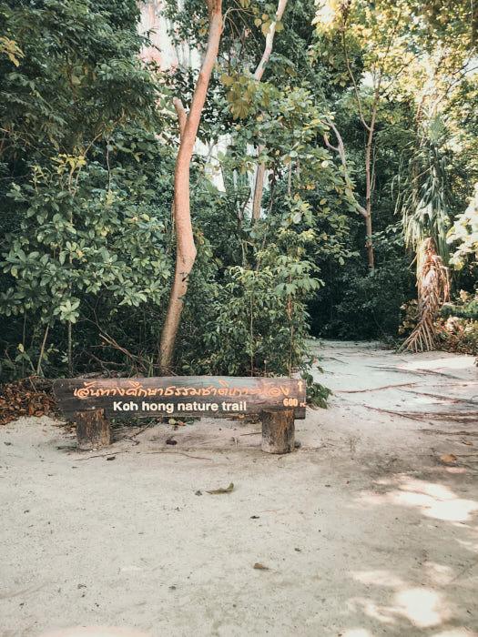 Nature Trail auf Hong Island