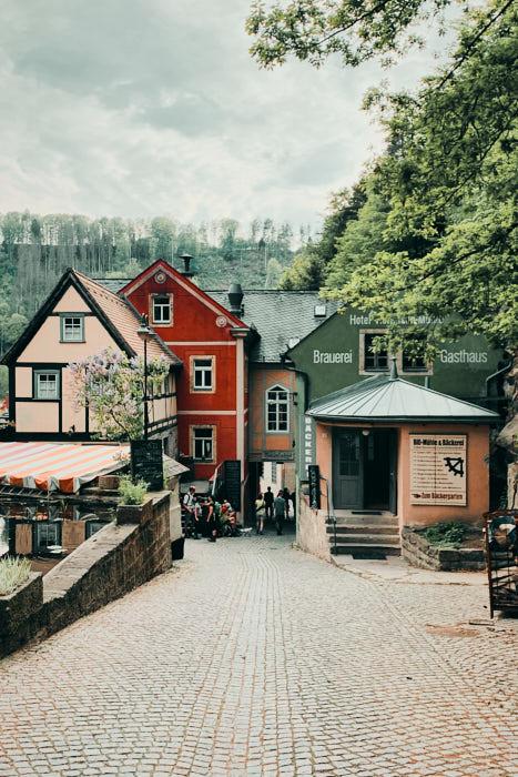 Schmilka Sächsische Schweiz Impression