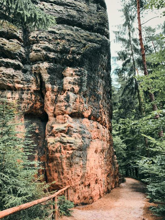 Schrammsteine Wanderung