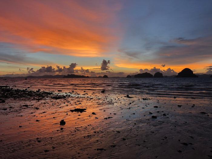 Tubkaek Beach Sonnenuntergang