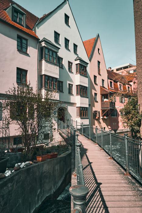 Altstadt Augsburg Spaziergang