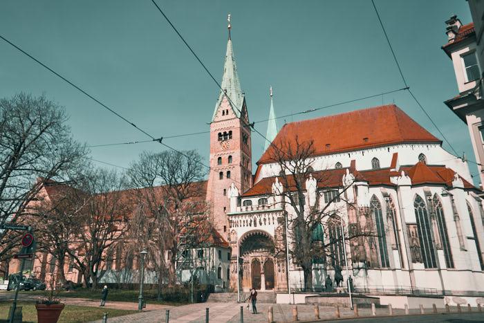 Augsburger Dom am Domplatz
