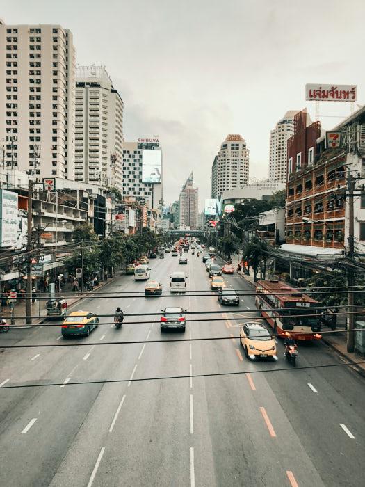 Thailand Bangkok Verkehr