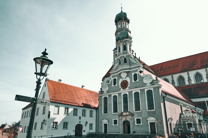 basilika St Ulrich und Afra Augsburg