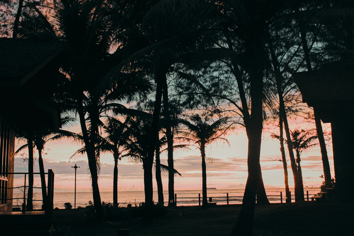 Koh Lanta Thailand Sonnenuntergang