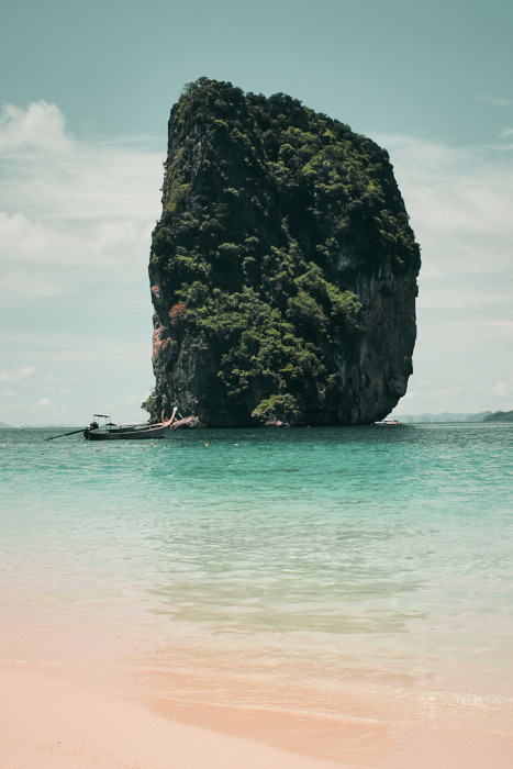 Phang Nga Felsen in Thailand