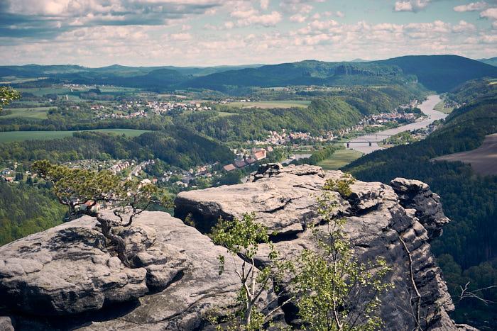 Lilienstein Wanderung Wetterkiefer Sächsische Schweiz