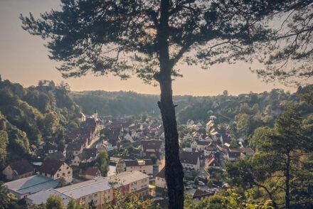 Pottenstein Sehenswürdigkeiten Ausblick Fränkische Schweiz