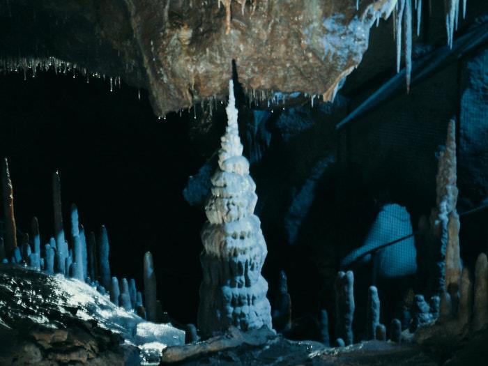 Teufelshöhle Pottenstein Stalagmiten