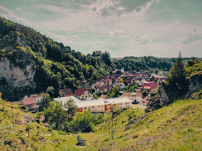 Wandern Ausblick Pottenstein