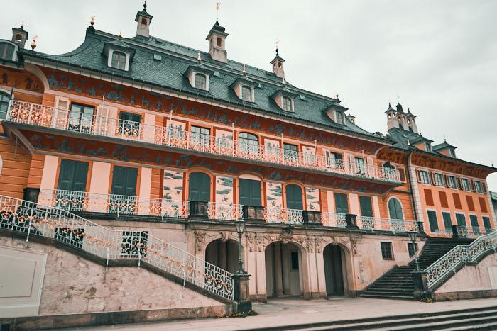 Wasserpalais Freitreppe Schloss Pillnitz