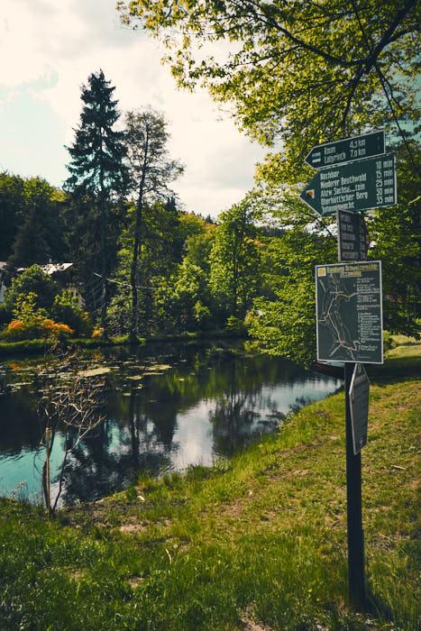 Bielatal Teich