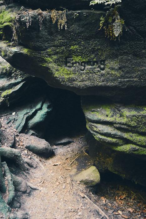 Eingang zur Heringshöhle