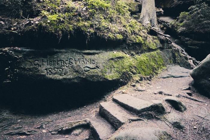 Heringshöhle Teufelsgrund Sächsische Schweiz