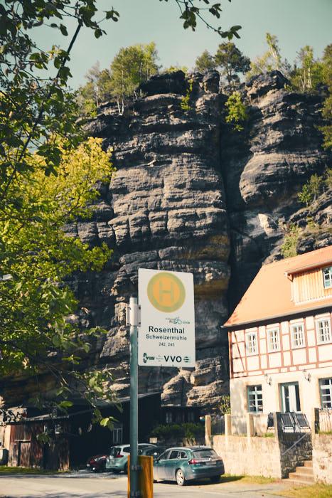 Parkplatz Schweizermühle Bielatal