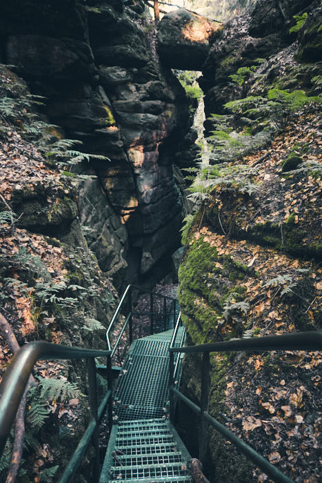 Teufelsgrund Sächsische Schweiz Wanderung