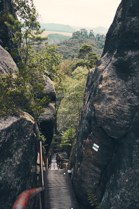 Abstieg Jägersteig