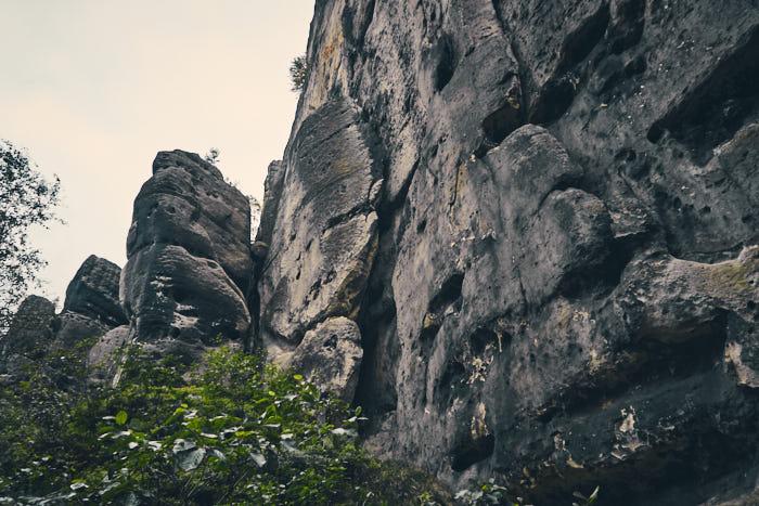 Felswand Falkenstein