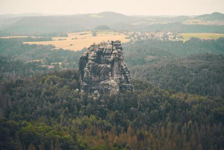 Falkenstein Wanderung Sächsische Schweiz
