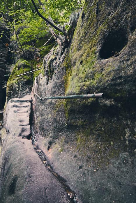 Felsenstufen Wildschützensteig