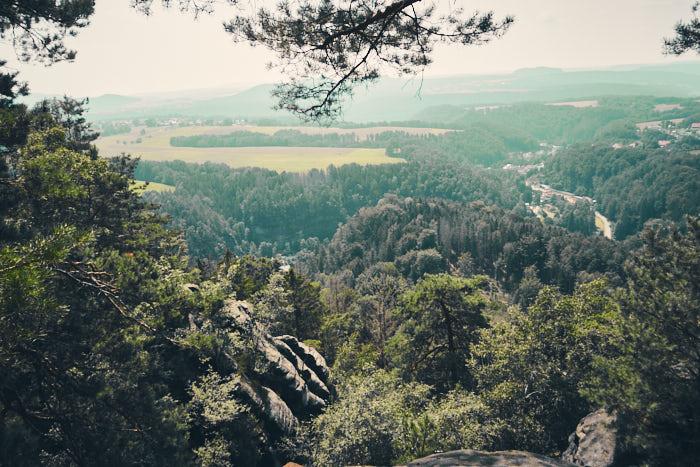 Ochelspitze Ausblick