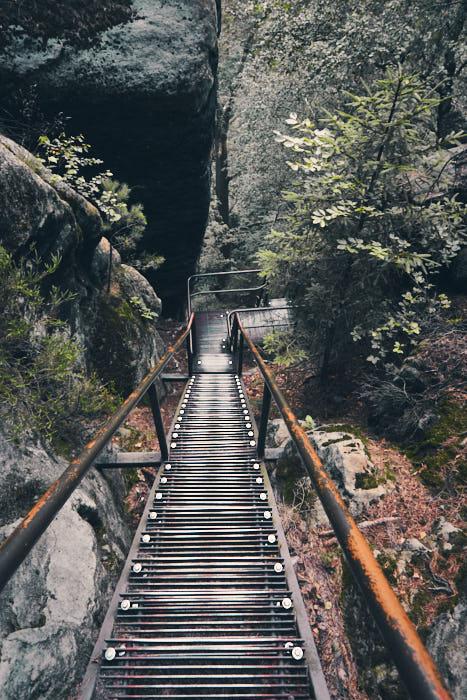 Treppen Jägersteig