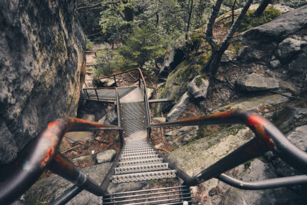 Wildschützensteig Jägersteig Treppen
