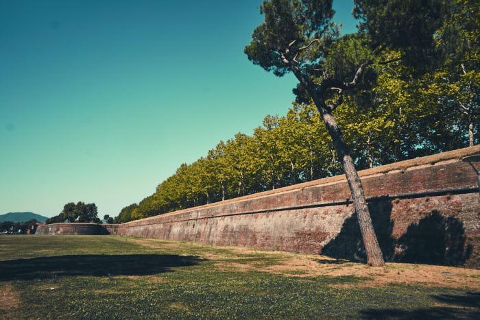 Historische Stadtmauer Lucca