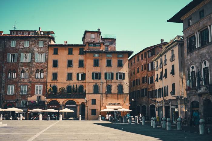 Marktplatz Lucca